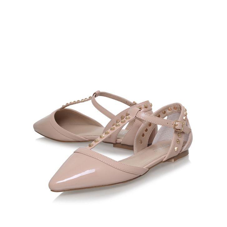 746f82a56d2d Mannie Nude Flat Shoes By Carvela Kurt Geiger