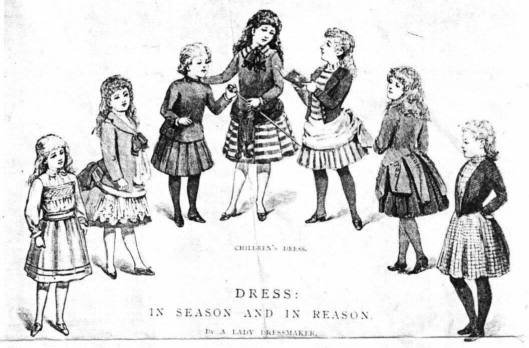 1888 sensible dress for girls