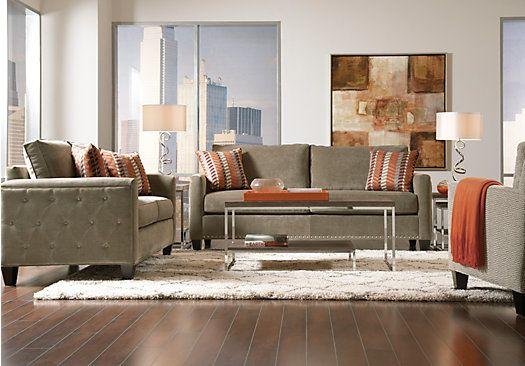 sofia vergara uptown platinum 7 pc living room lovely living rh pinterest com