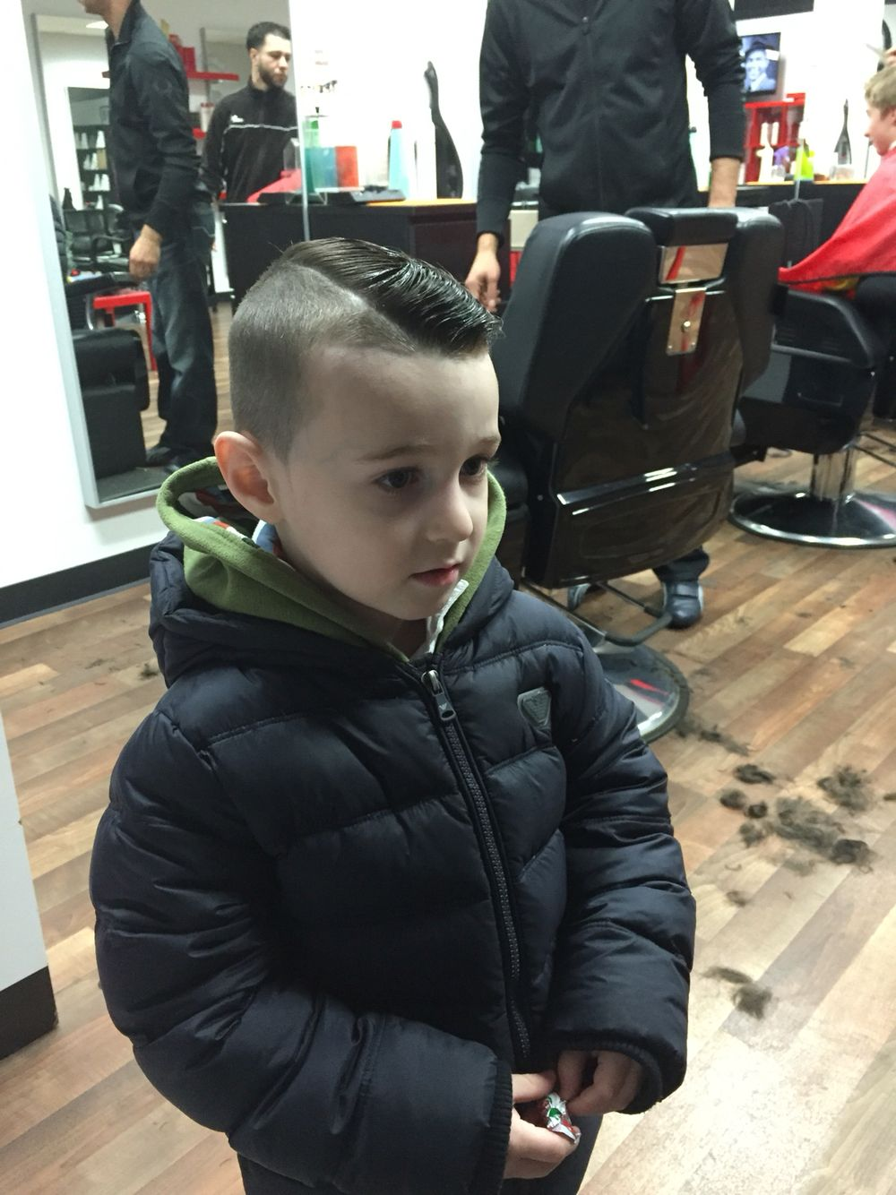 Boys haircut
