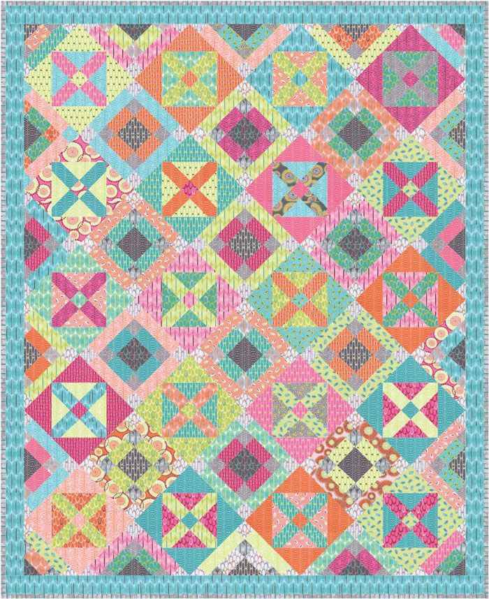 Multiplicity Quilt Pattern Aeq 49a Patterns Hand Embroidery And Scrap