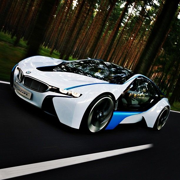 Bmw I8 Concept Beautiful Hybrid With Images Bmw Concept Bmw
