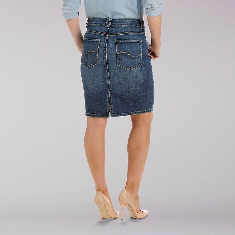 be28ea7a Lee Women's Curvy Fit Stella Skirt - Modern Series (Size 18 x M ...