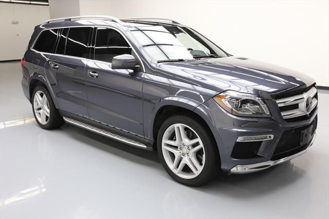 2016 Mercedes Benz Gl550 4matic Pano Roof Nav Premium Package Leather Seats Front Driver Seat Memory Heated And Cooled Third Row