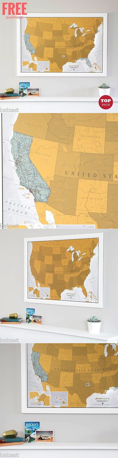 North America Map Detailed%0A North America         Scratch Off Map Usa Travel North America Exploration  Wall Art Us Mural