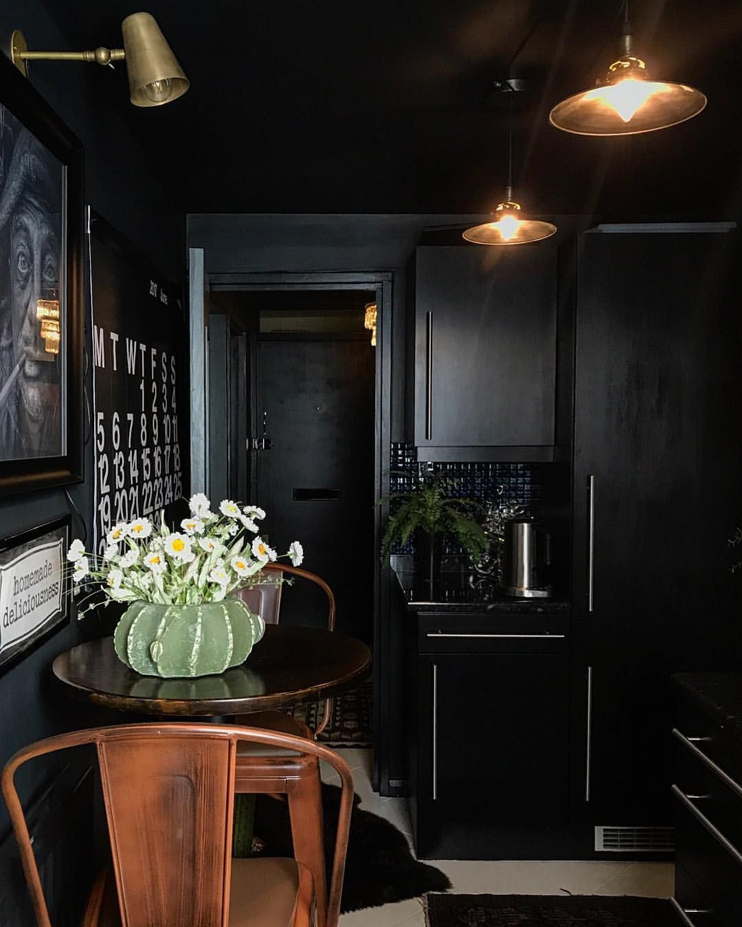 don t be afraid to use black in your interior design projects we rh pinterest com