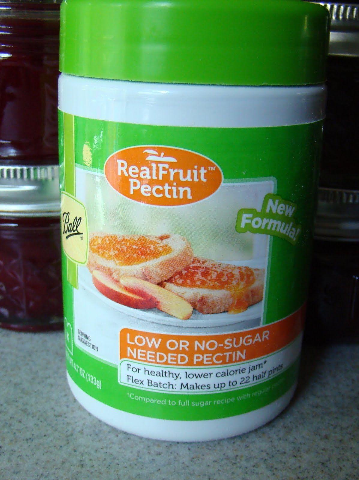 Pectin ball real fruit pectin freezer jam recipes