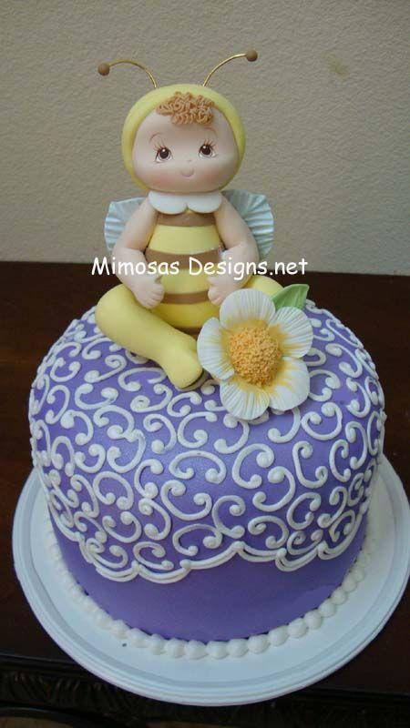 Baby Bumble Bee Cake Idea