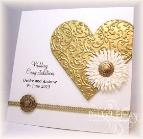 Nice for Silver or Golden Anniversary card