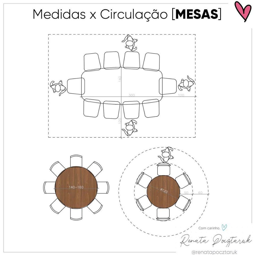 ❤️Like✏️Comente💾Salve - mesas redondas  . . . #arqui #mesajantar #decoraçao #lovedecor #decorlovers #homedesign #design