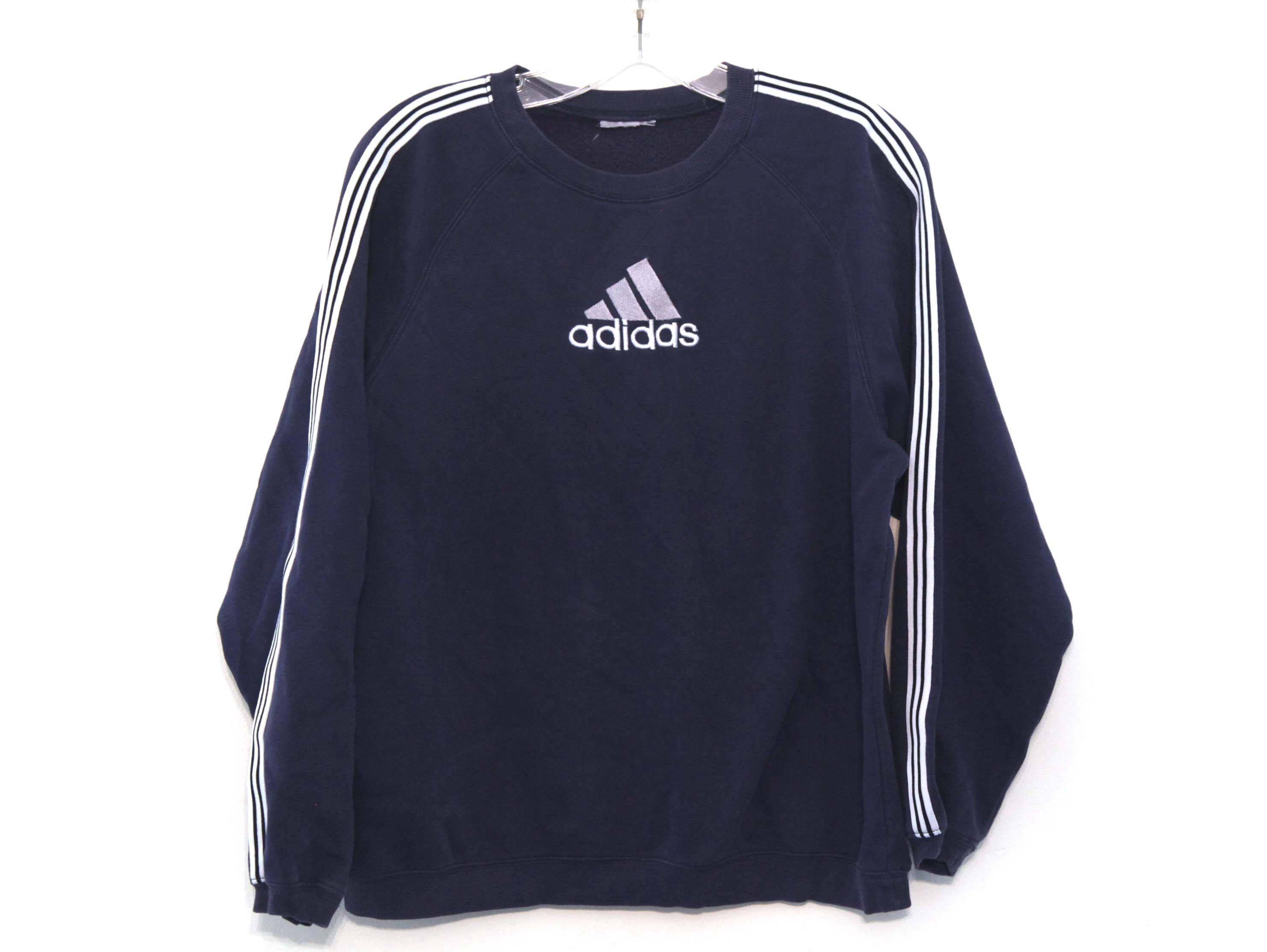 Vintage 90s Adidas Sweatshirt Navy Blue Crop Top Etsy Adidas Sweatshirt Navy Blue Crop Top Blue Crop Tops [ 2228 x 2964 Pixel ]