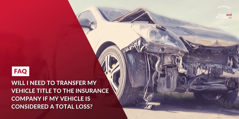 Will I need to transfer my vehicle title to the insurance