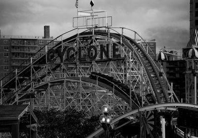 The 'Cyclone' Coney Island / NYC.