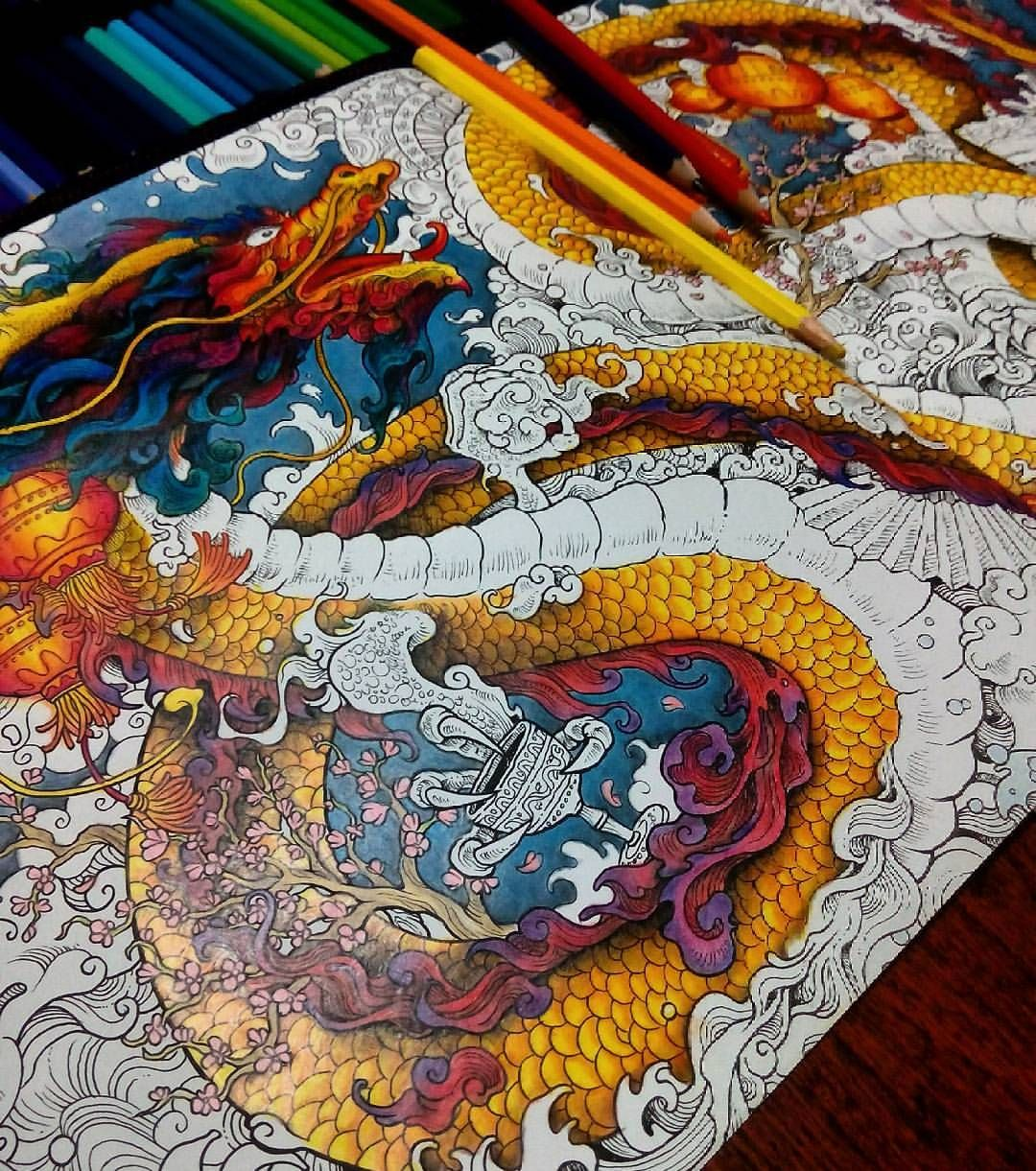 Pin By Kristin Allen On Art Coloring Coloring Books Coloring Book Art Animorphia Coloring Book
