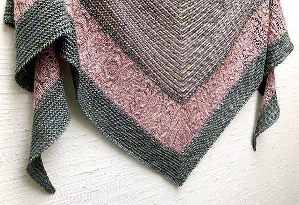 Echo Wood Knitting pattern by Boo Knits #strikkedesjaler