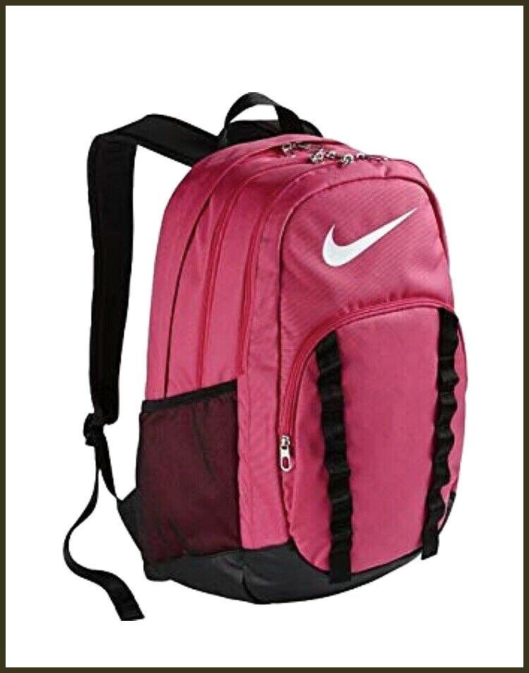espejo de puerta Teleférico Falsedad  NIKE BACKPACK PINK BLACK BA4862-660 CLASSIC LINE GYM BAG BACK TO SCHOOL  SWOOSH fashion clothing shoes accesso… in 2020 | Nike backpack, Pink  backpack, Nike school backpacks