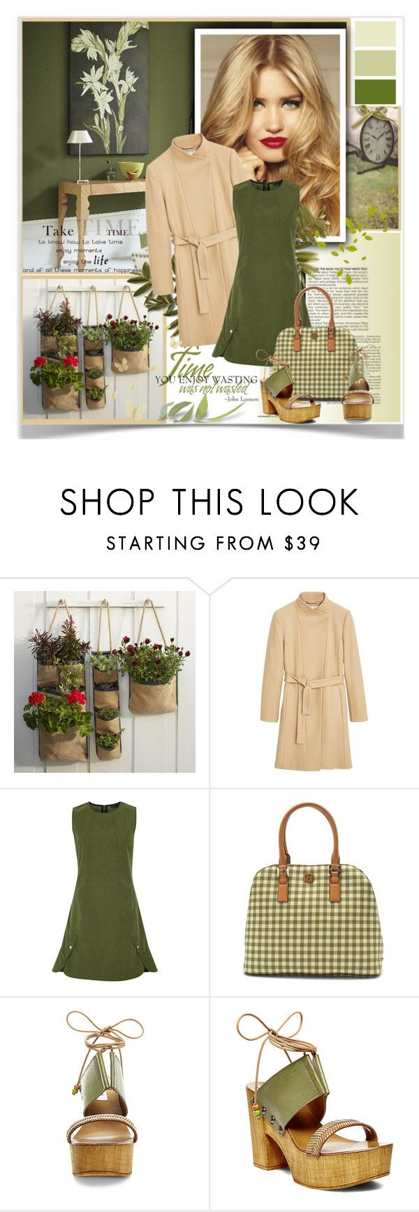 """Take time to enjoy your life!"" by sweetdee55 ❤ liked on Polyvore featuring West Elm, MANGO, Alexander Wang, Tory Burch and Steve Madden"