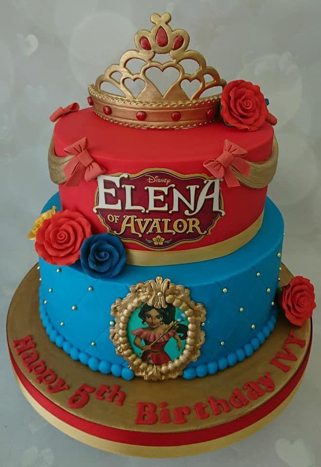 Elena Of Avalor Cake With Images Elena Birthday Party