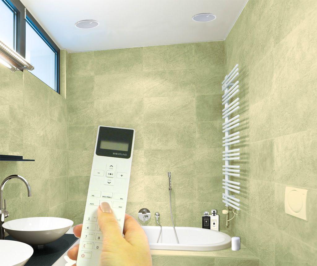 bathroom radio with ceiling speakers - Bathroom Radio