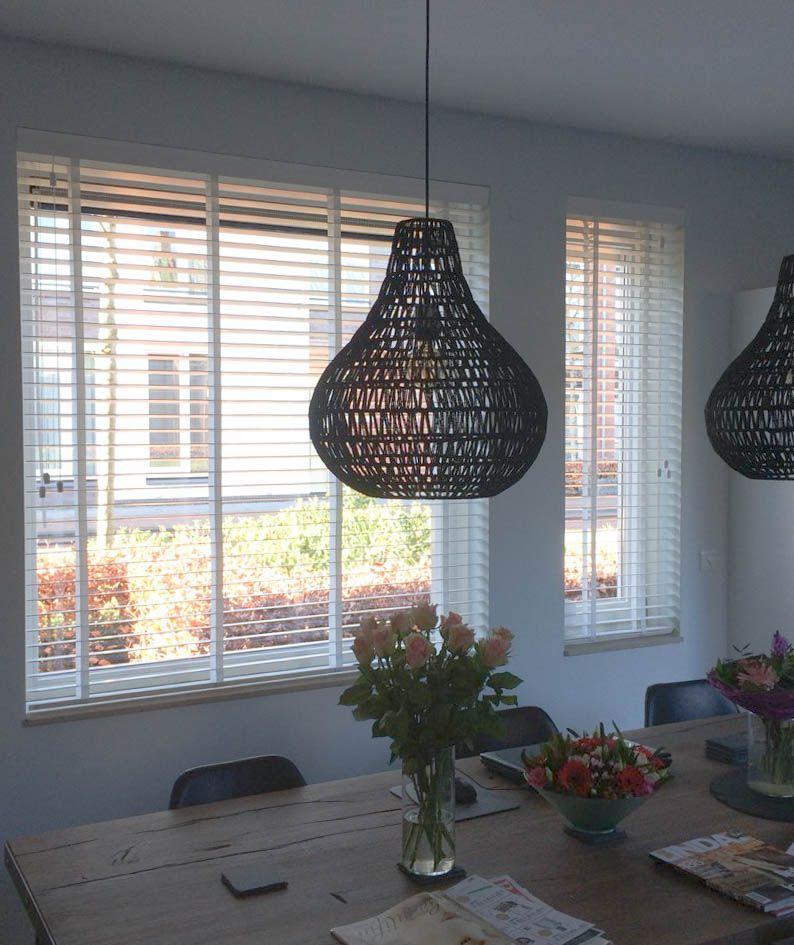 Jaloezieen keuken (hout) | Raamidee.nl