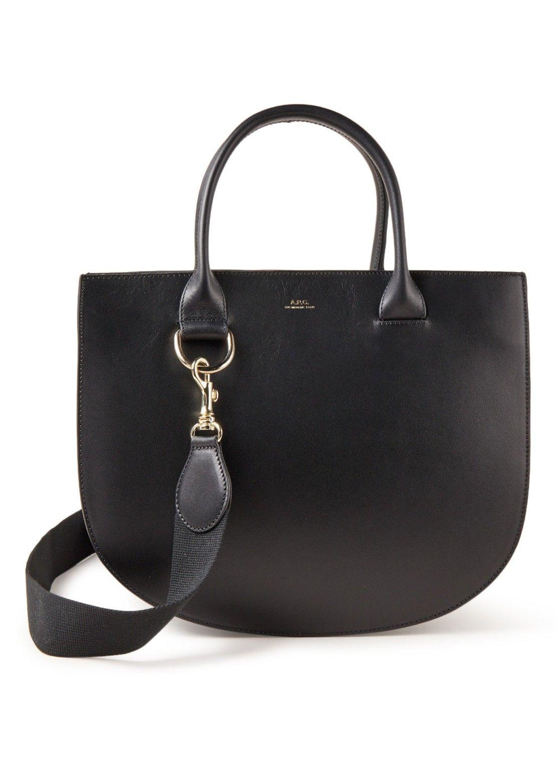 54431d3272b A.P.C. Marion handtas van leer • de Bijenkorf | accesories | Bags, Tops