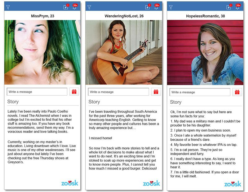 online dating profile templates free
