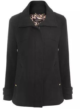 f0cdd7815 Casaco De Lã Ellen Tracy Billie Feminino | Casacos de Lã | Coat ...