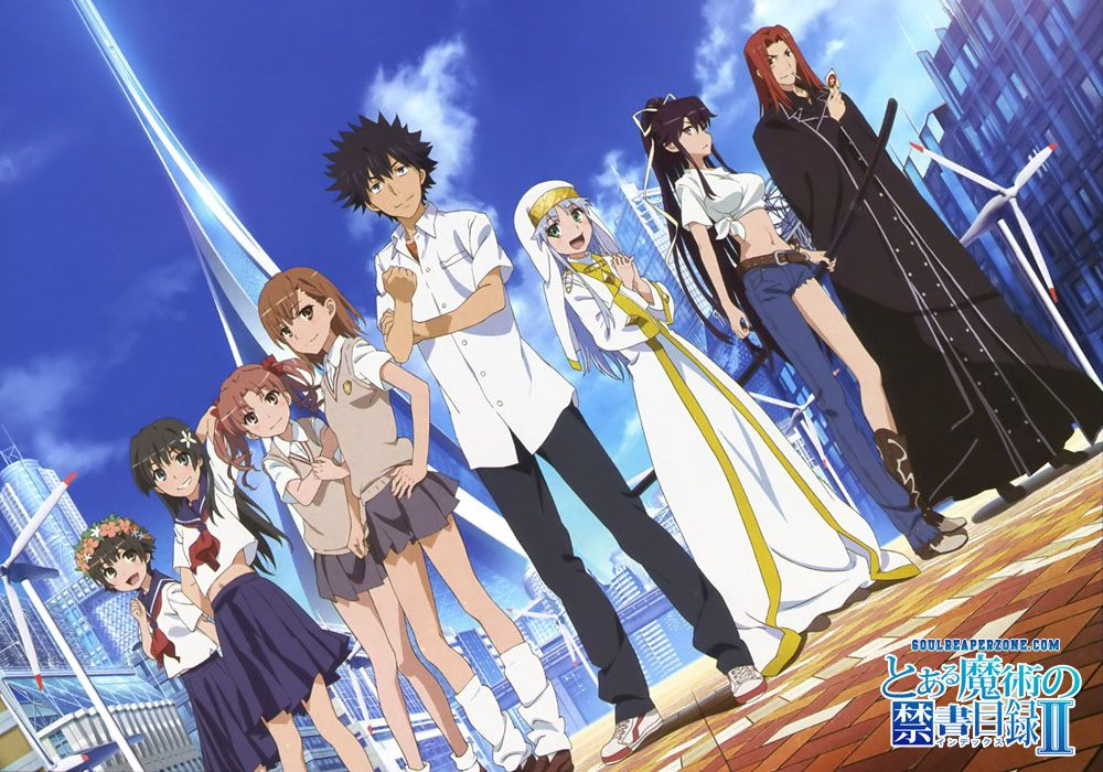 Toaru Majutsu No Index Bluray Bd Episode 01 24 H264 480p 720p English Subbed Download Anime Shows A Certain Magical Index Anime