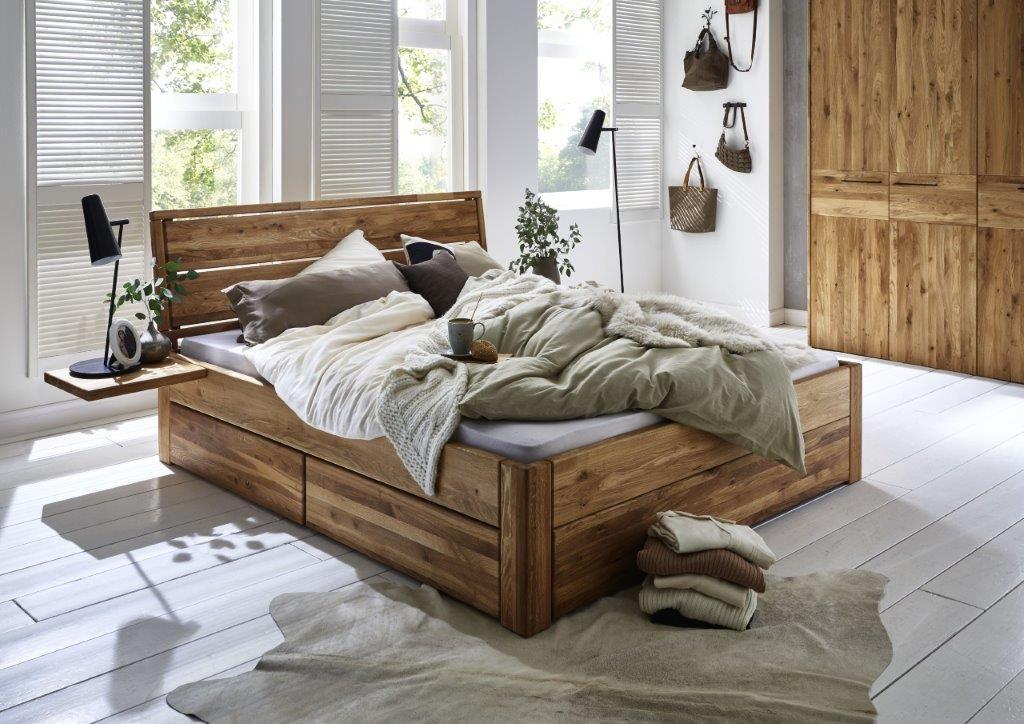 Pin Von Desiree Buchel Auf Mobel In 2020 Bett Eiche Doppelbett Aus Holz Massivholzbett