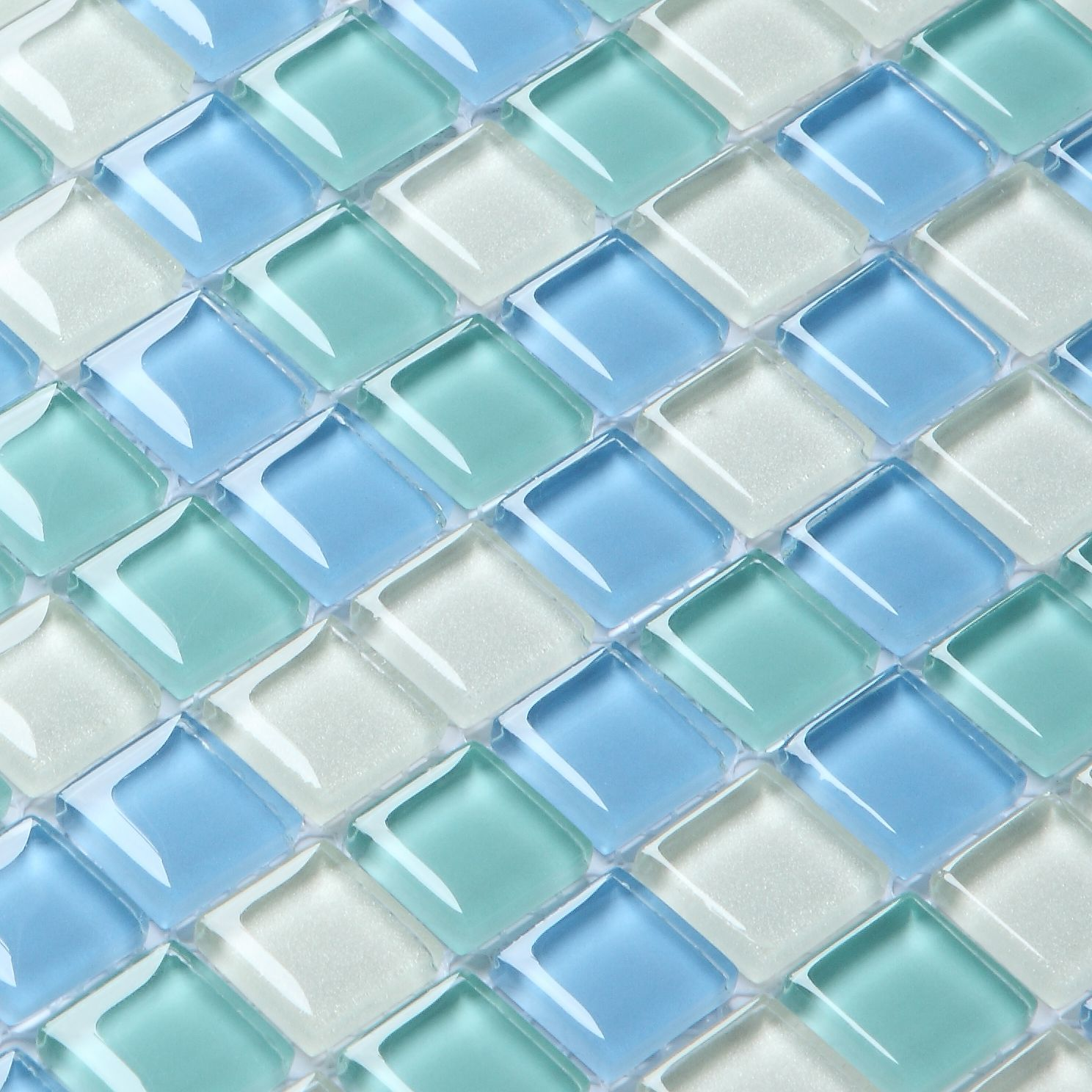 blue glass tile - Google Search | lake | Pinterest | Blue glass tile ...