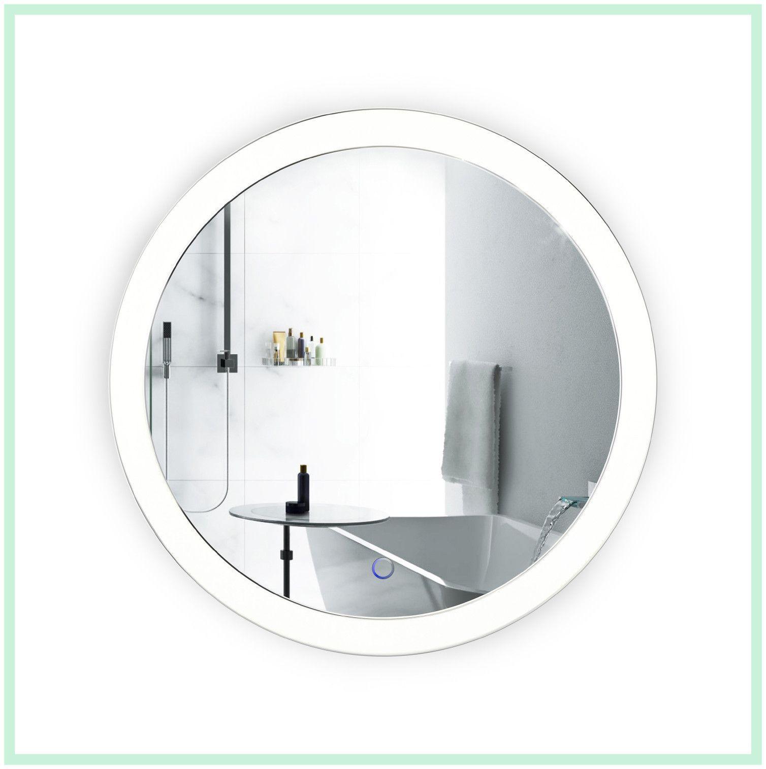 Led 22   Round bathroom mirror, Bathroom mirror lights and Bathroom ...
