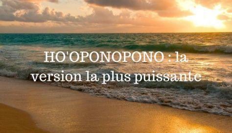 musique relaxation oponopono
