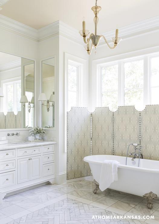 Bathrooms Kelly Wearstler Katana Visual Comfort Lightingginger Single Arm Sonce Melisshaynes