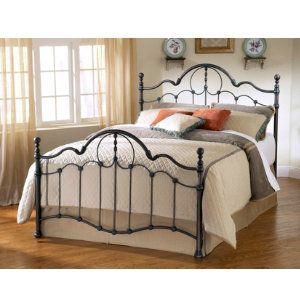 venetian full metal bed metal beds bedrooms art van furniture rh pinterest com
