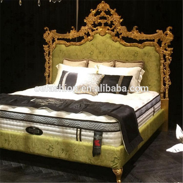 oe fashion french baroque design wooden bedroom furniture set king rh pinterest com
