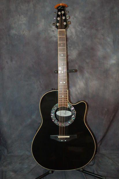 Ovation Model 2071 Ultra Big Bowl 2014 Black | Reverb.com. Give us a call. Lawman Guitars. 515-864-6136