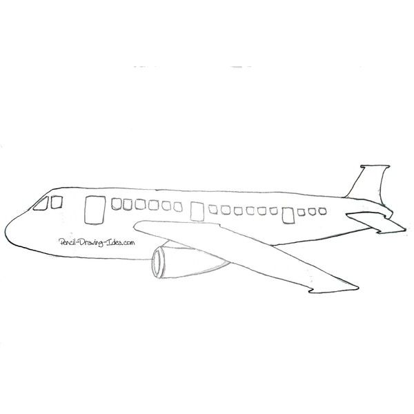 Cartoon airplane drawing ❤ liked on polyvore featuring fillers drawings art sketches