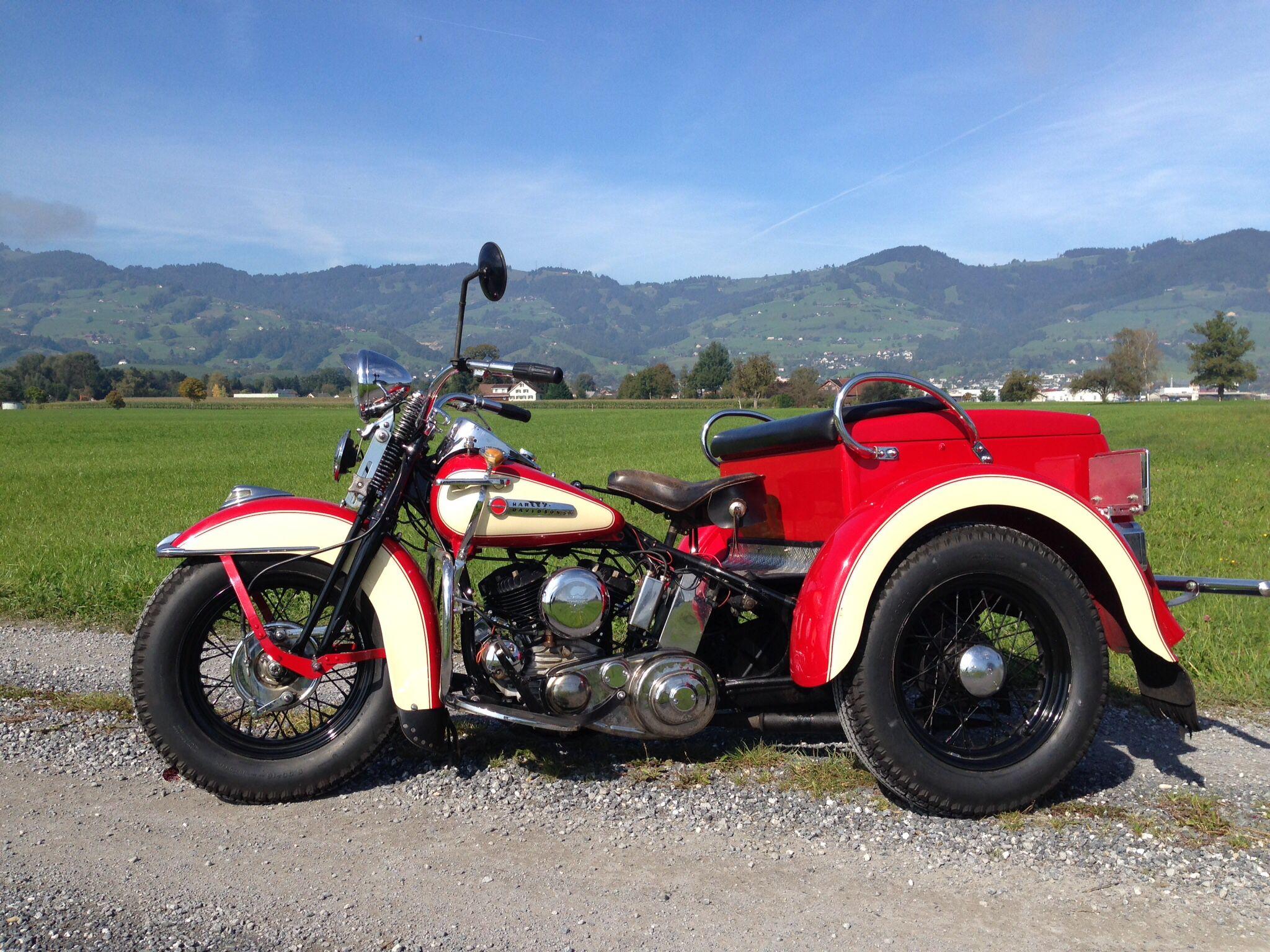1941 Servi Car On Tour In East Switzerland Trike Motorcycle Vintage Harley Davidson Harley Davidson Motorcycles