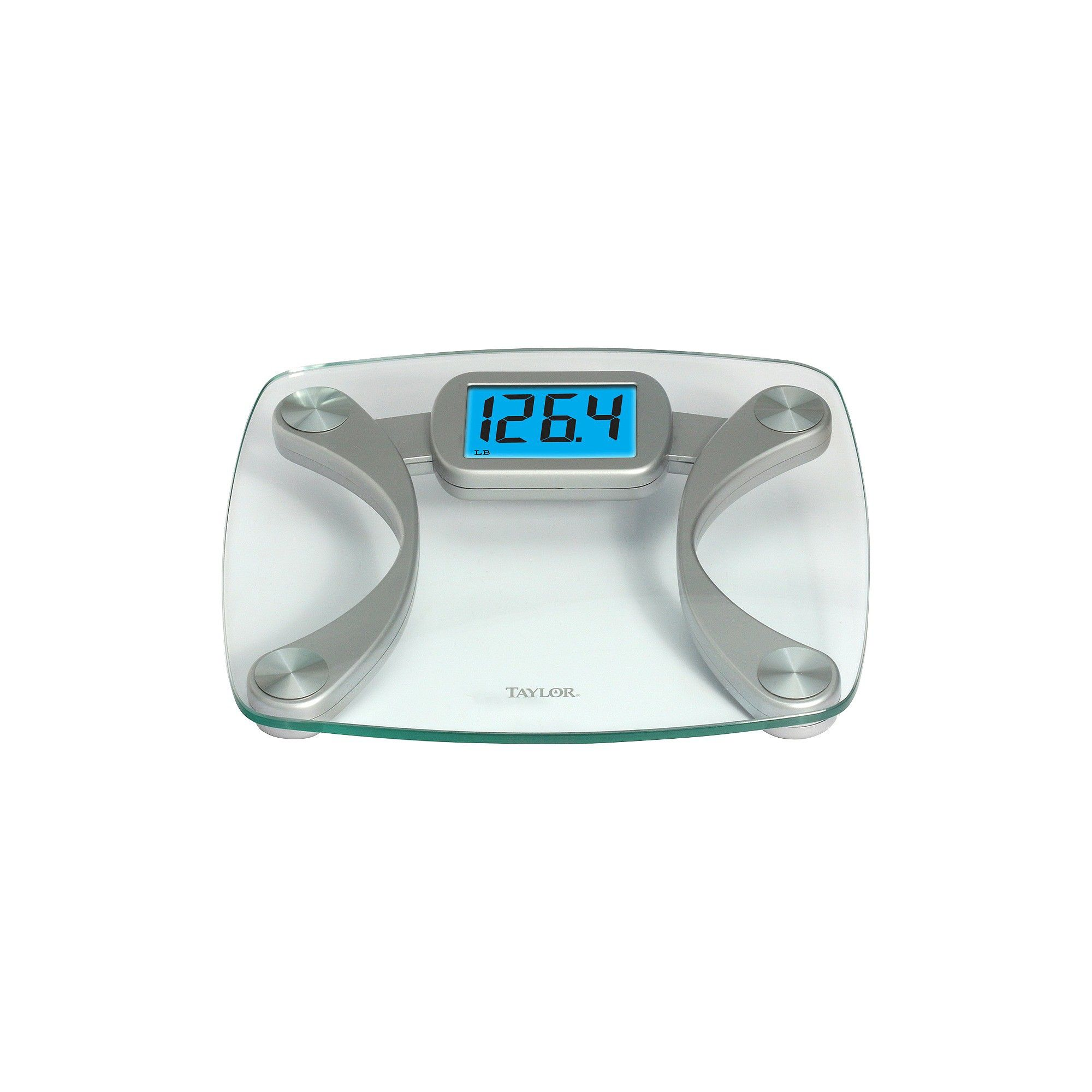 digital glass scale with blue backlight clear silver taylor rh pinterest ca