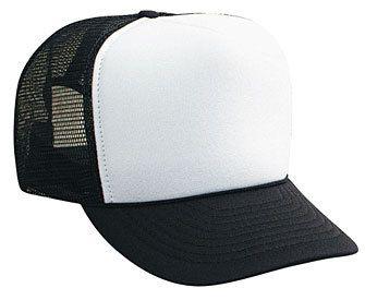 Black Blank Hat Black Blank Cap Trucker Hat Mesh Hat Snap Back