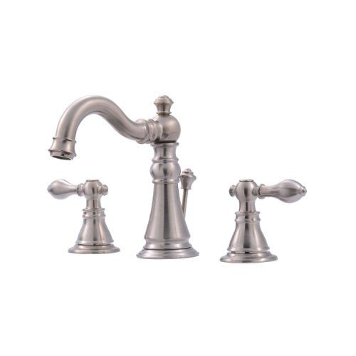 ultra uf55113 two handle brushed nickel lavatory faucet w https rh pinterest com