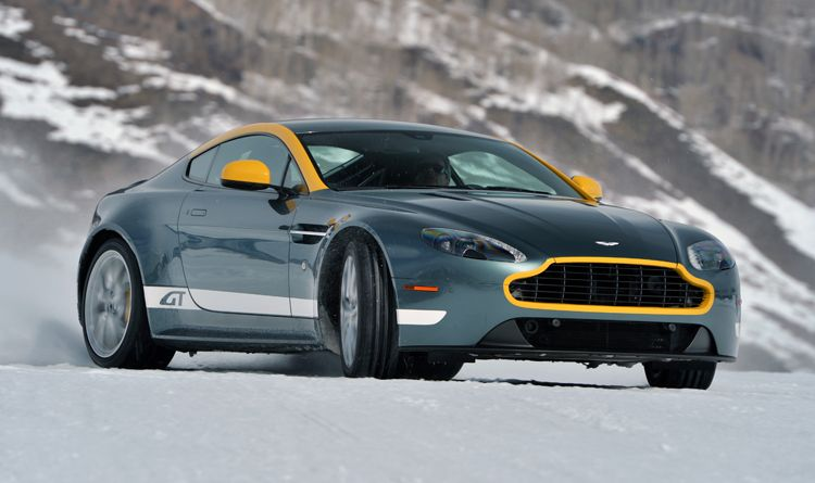 aston martins on ice the most fun you can have with your snow tires rh pinterest com