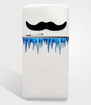 Giant Refrigerator Magnet Mustache / $8, via @Cassy Rowe