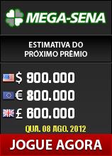 Loteria Mega-sena na internet
