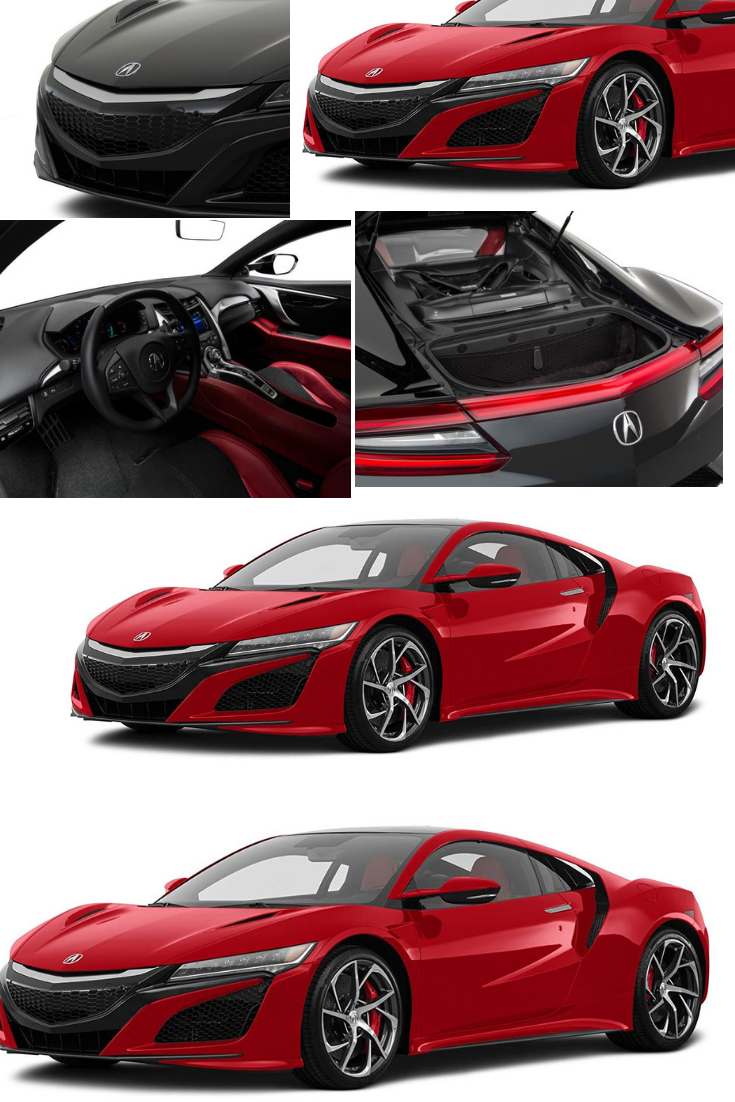 2017 acura nsx coupe valencia red pearl be the first to write a rh pinterest com