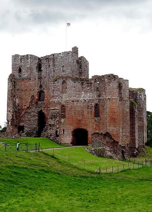 Brougham Castle, Cumbria, England by Kelly Sutherland