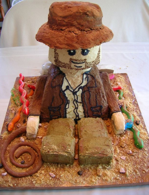 His dream cake... Apparently!