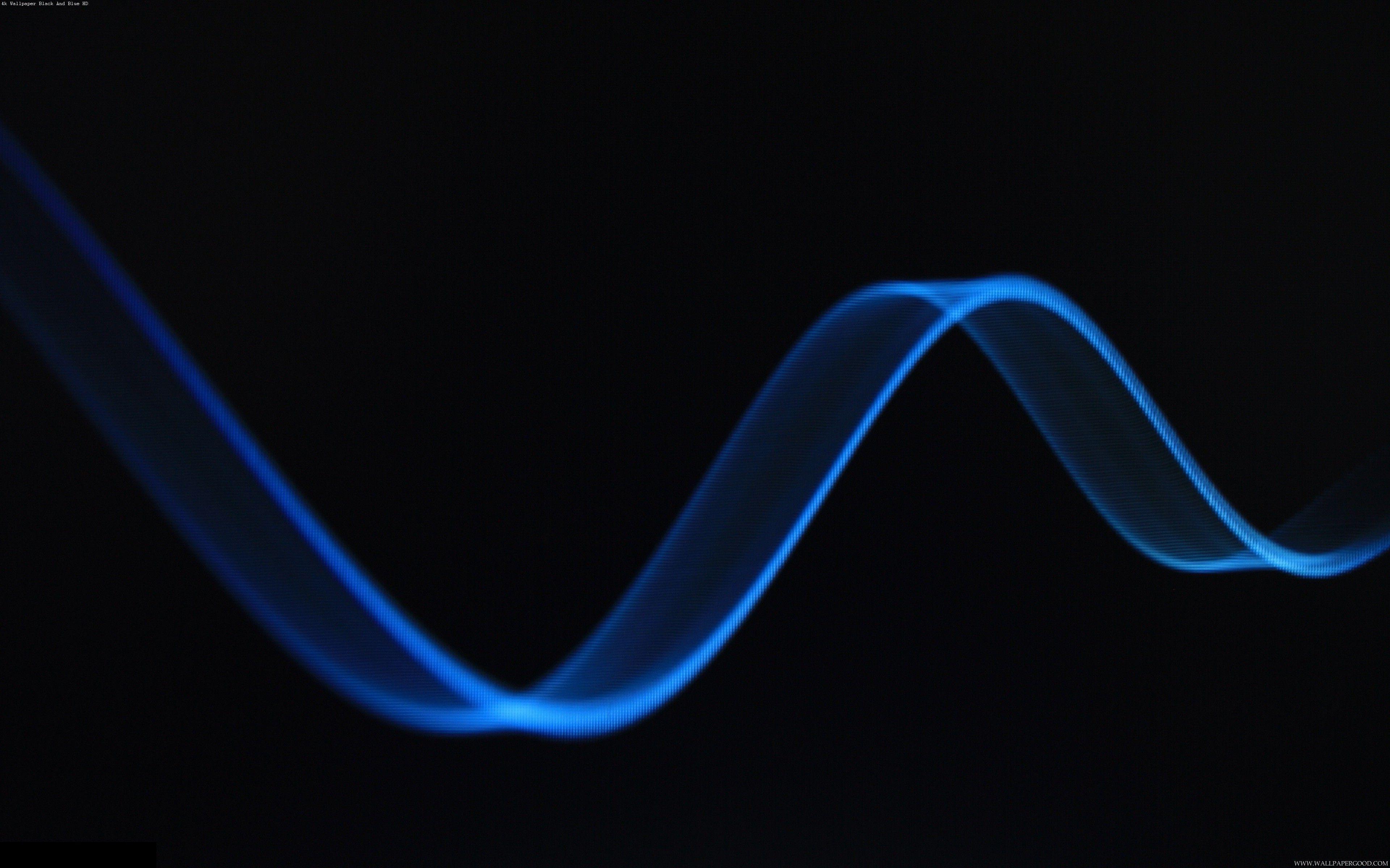 4k Wallpaper Black And Blue Hd Black And Blue Wallpaper Neon Backgrounds Light In The Dark 4k wallpaper dark blue