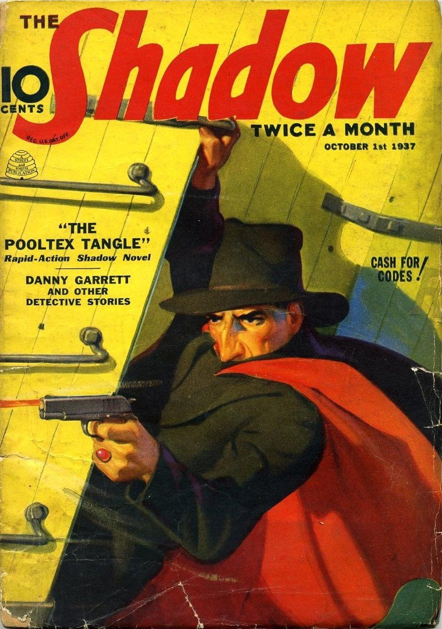 Image result for pulp magazine the shadow