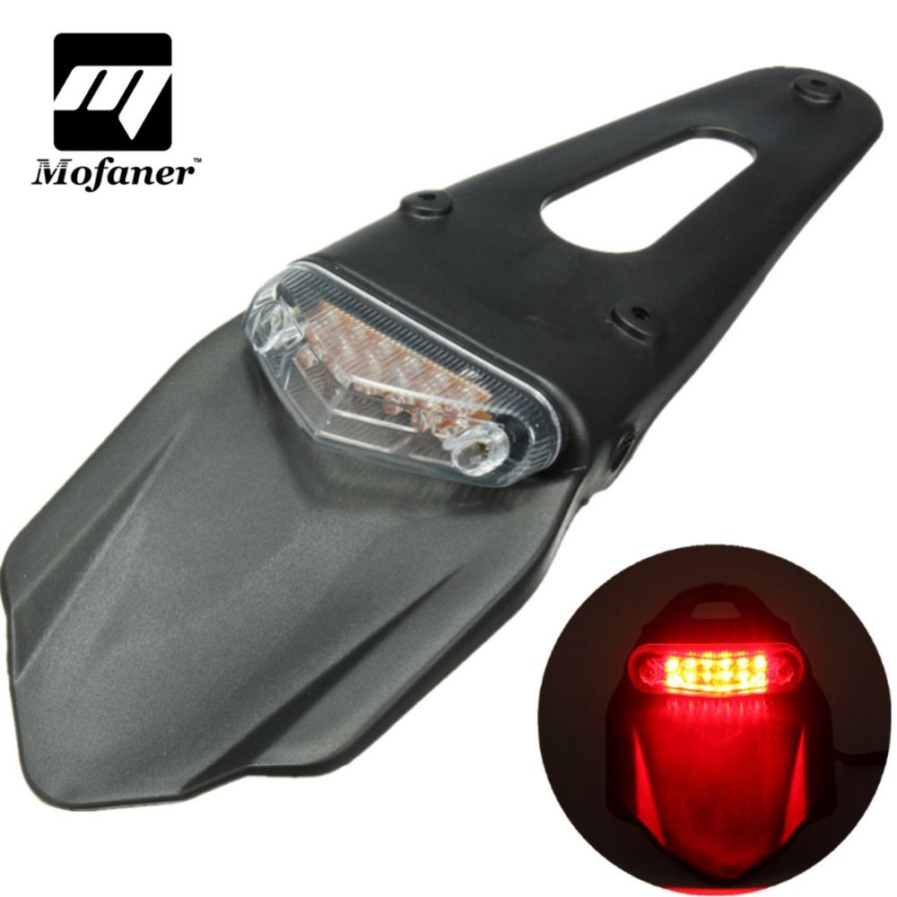 Compare Prices Universal Motorcycle Fender Light 12 Led Lamp Stop Break Rear Tail Light Back Motorcycle Tail Lights Dengan Gambar